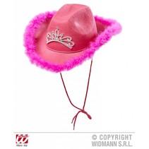 Roze Cowgirl hoed