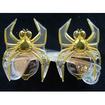 Funbril verlichting spin geel