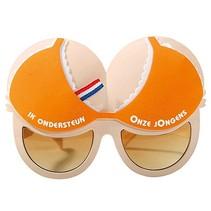 Tieten bril oranje Holland