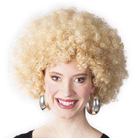 Afropruik blond