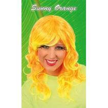 Pruik Sunny Orange