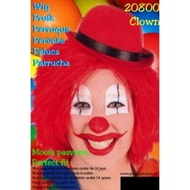 Rode Clownspruik