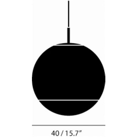 TOM DIXON MIRROR BALL 40 PENDANT