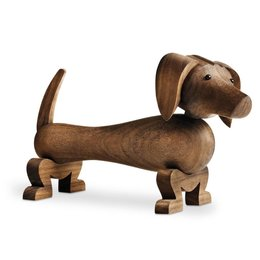 KAY BOJESEN DOG WALNUT