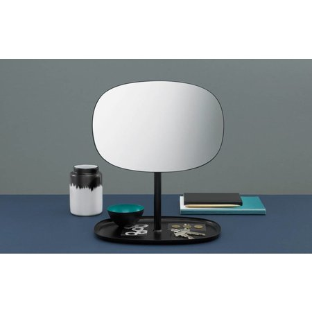 NORMANN COPENHAGEN DESIGN FLIP MIRROR BLACK