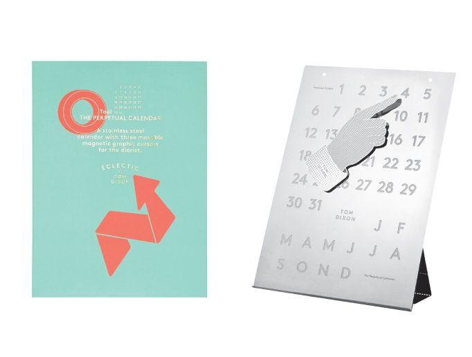 Calendar Design Tool : Tom dixon design tool the perpetual calendar nordic new