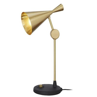 TOM DIXON BEAT TABLE LAMP BRASS