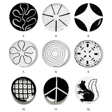 DESIGN STICKS DECO PLATE