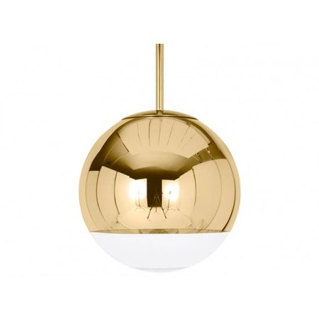 TOM DIXON DESIGN MIRROR BALL PENDANT GOLD