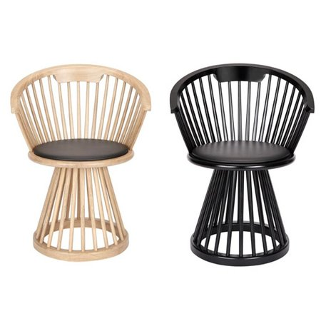 TOM DIXON DESIGN FAN DINING CHAIR