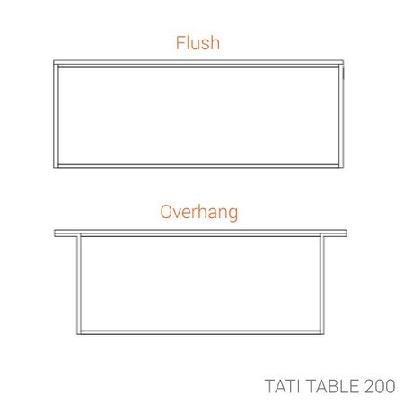 ASPLUND DESIGN TATI DINING TABLE 200