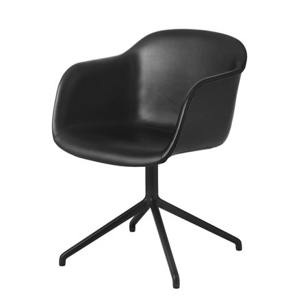MUUTO DESIGN FIBER SWIVEL CHAIR UPHOLSTERED