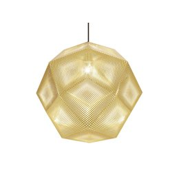 TOM DIXON ETCH SHADE PENDANT BRASS 50CM