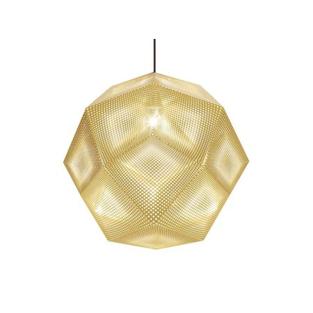TOM DIXON DESIGN ETCH SHADE PENDANT BRASS 50CM