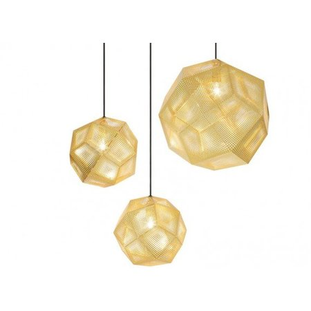 TOM DIXON DESIGN ETCH SHADE BRASS 50CM