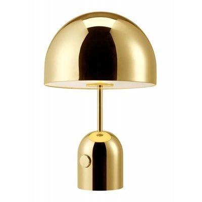 TOM DIXON BELL TABLE DESIGN LAMP BRASS