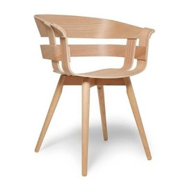 DESIGN HOUSE STOCKHOLM WICK DESIGN STOEL WOOD LEGS