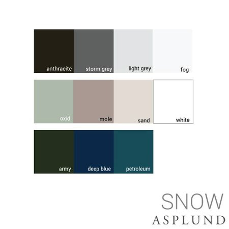 ASPLUND DESIGN SNOW CABINET A