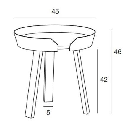 MUUTO DESIGN AROUND COFFEE TABLE