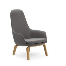NORMANN COPENHAGEN ERA LOUNGE CHAIR HIGH OAK