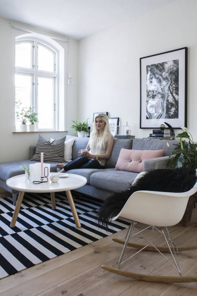 NORMANN COPENHAGEN DESIGN TABLO TABLE LARGE BLACK - NORDIC NEW