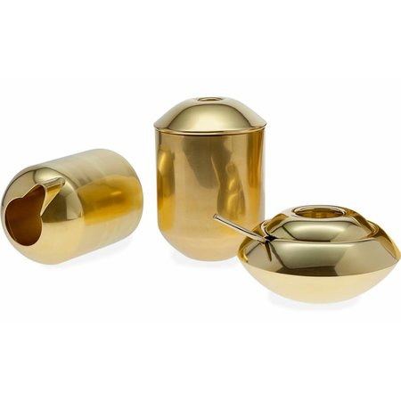 TOM DIXON FORM TEA CADDY BRASS