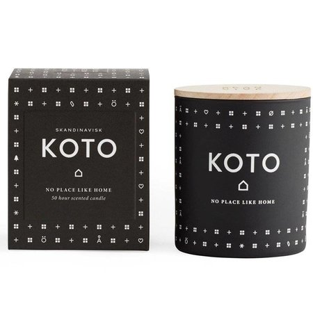 SKANDINAVISK KOTO (home)- black glass 190gr.