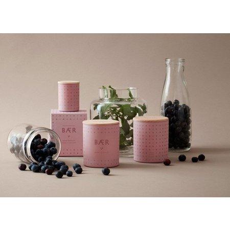 SKANDINAVISK BAER (berry) - light pink purple glass 190gr.