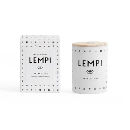SKANDINAVISK LEMPI MINI SCENTED CANDLE (LOVE) 55gr