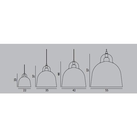 NORMANN COPENHAGEN DESIGN BELL PENDANT X SMALL