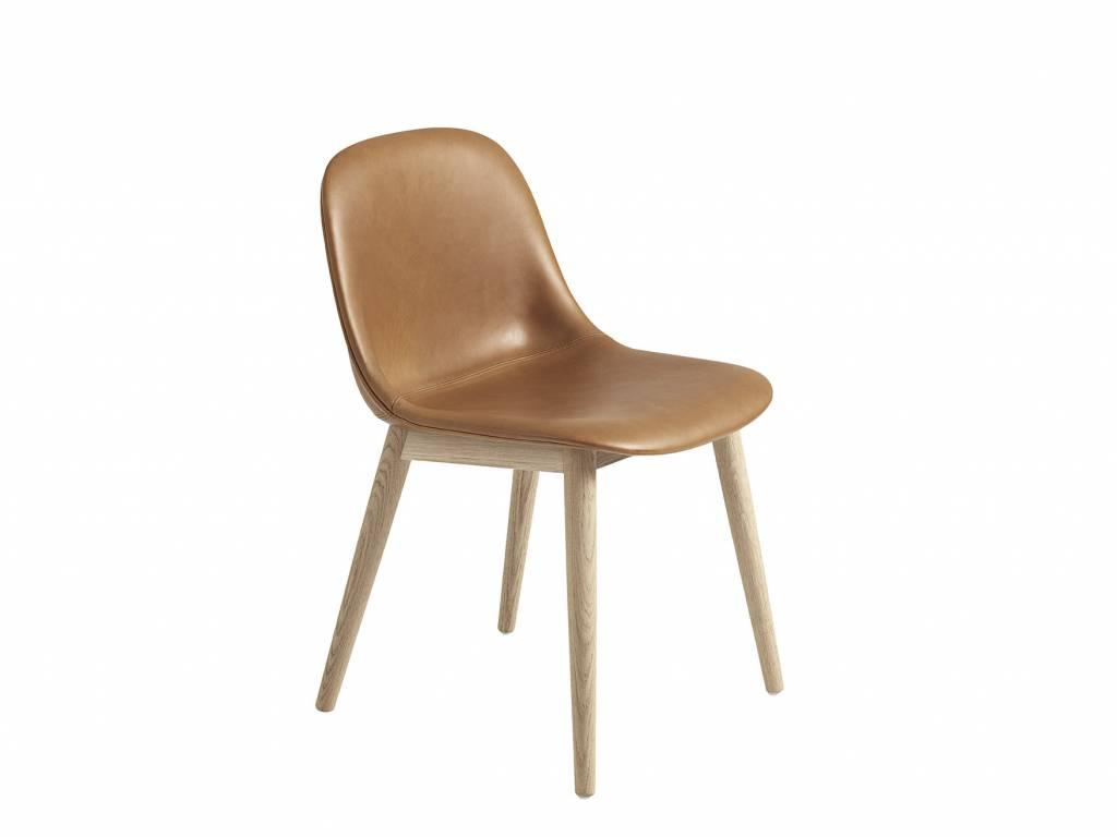 muuto fiber side chair wood base designed by iskos. Black Bedroom Furniture Sets. Home Design Ideas