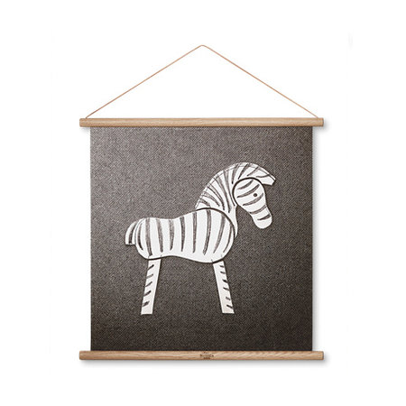 KAY BOJESEN ZEBRA LINE DRAWING MULTICOLOR