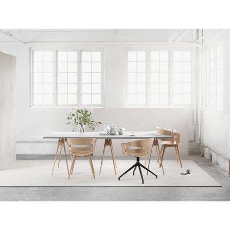DESIGN HOUSE STOCKHOLM WICK CHAIR WOOD LEGS