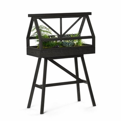 DESIGN HOUSE STOCKHOLM GREENHOUSE PLANTENKAS GRIJS
