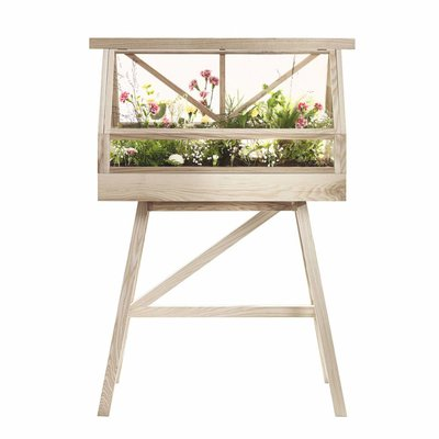 DESIGN HOUSE STOCKHOLM GREENHOUSE PLANTENKAS NATUREL ASH