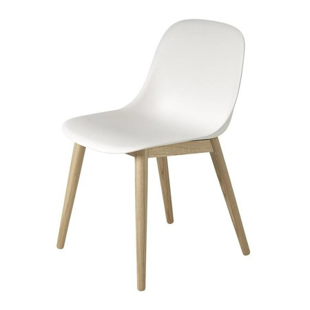 MUUTO FIBER SIDE CHAIR / WOOD BASE, Designed by Iskos-Berlin.