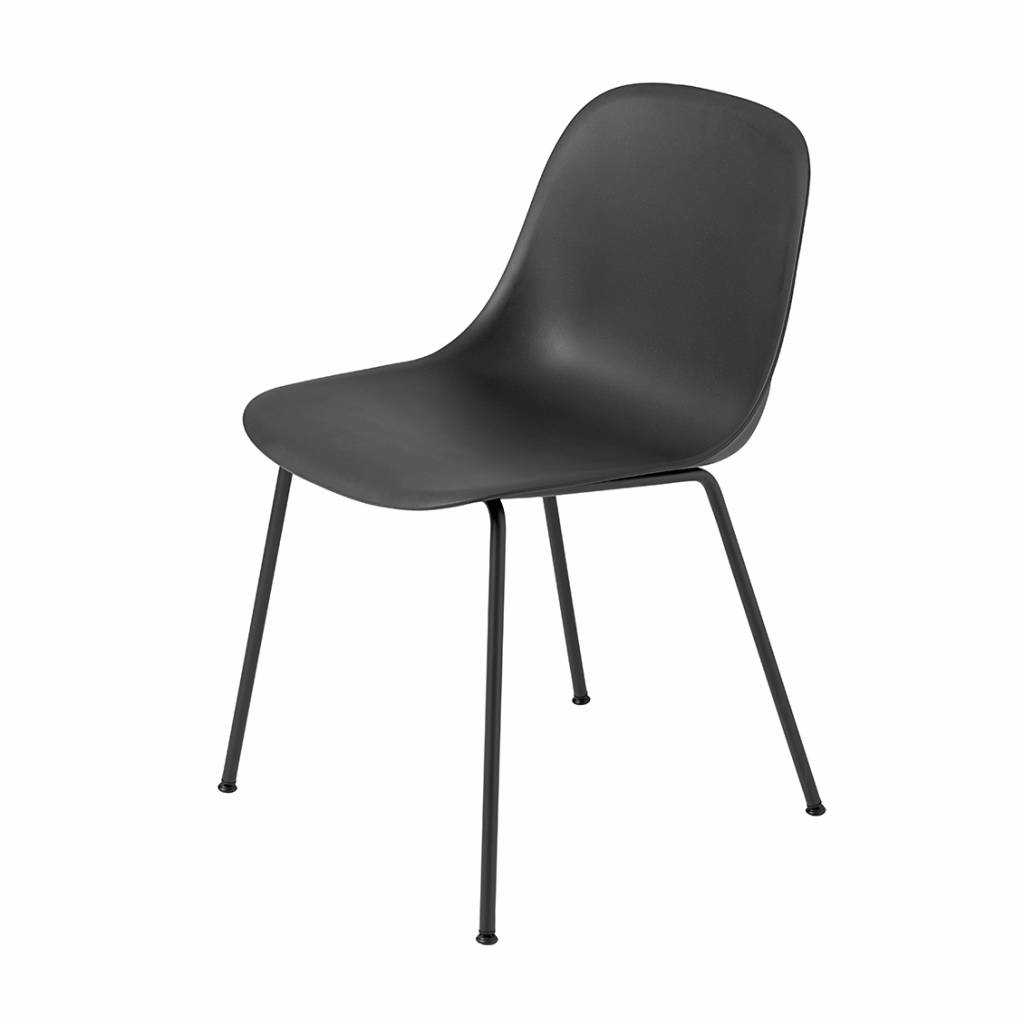 Muuto Fiber Side Chair Tube Base Designed By Iskos