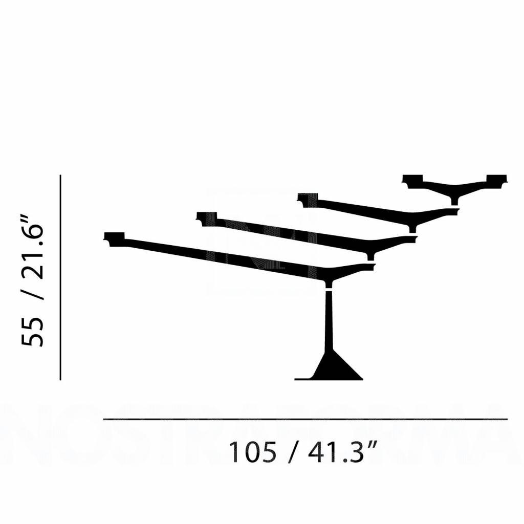 spin table candelabra nordic new. Black Bedroom Furniture Sets. Home Design Ideas