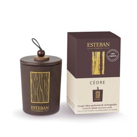 ESTEBAN Esteban Classic Cedre Geurkaars Deco - 170 gr