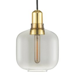 NORMANN COPENHAGEN AMP DESIGN LAMP SMALL MESSING
