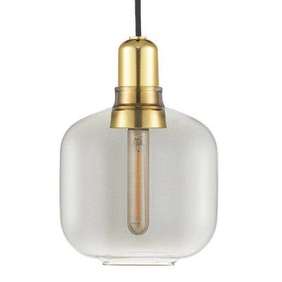 NORMANN COPENHAGEN AMP DESIGN LAMP SMALL MESSING