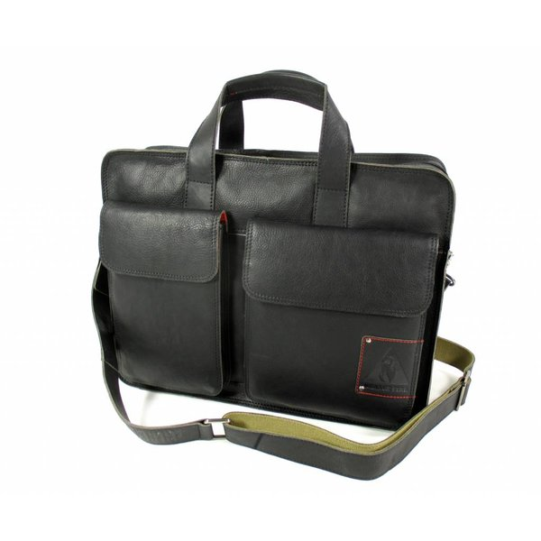 "Laptoptas business tas 15,6"" Twinner zwart"