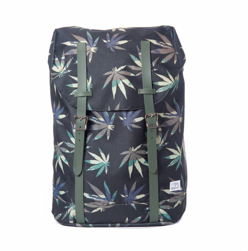 Spiral Hampton Backpack Grass Camouflage