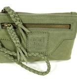 House of Sakk Portemonnee Camille Purse S Olive Green
