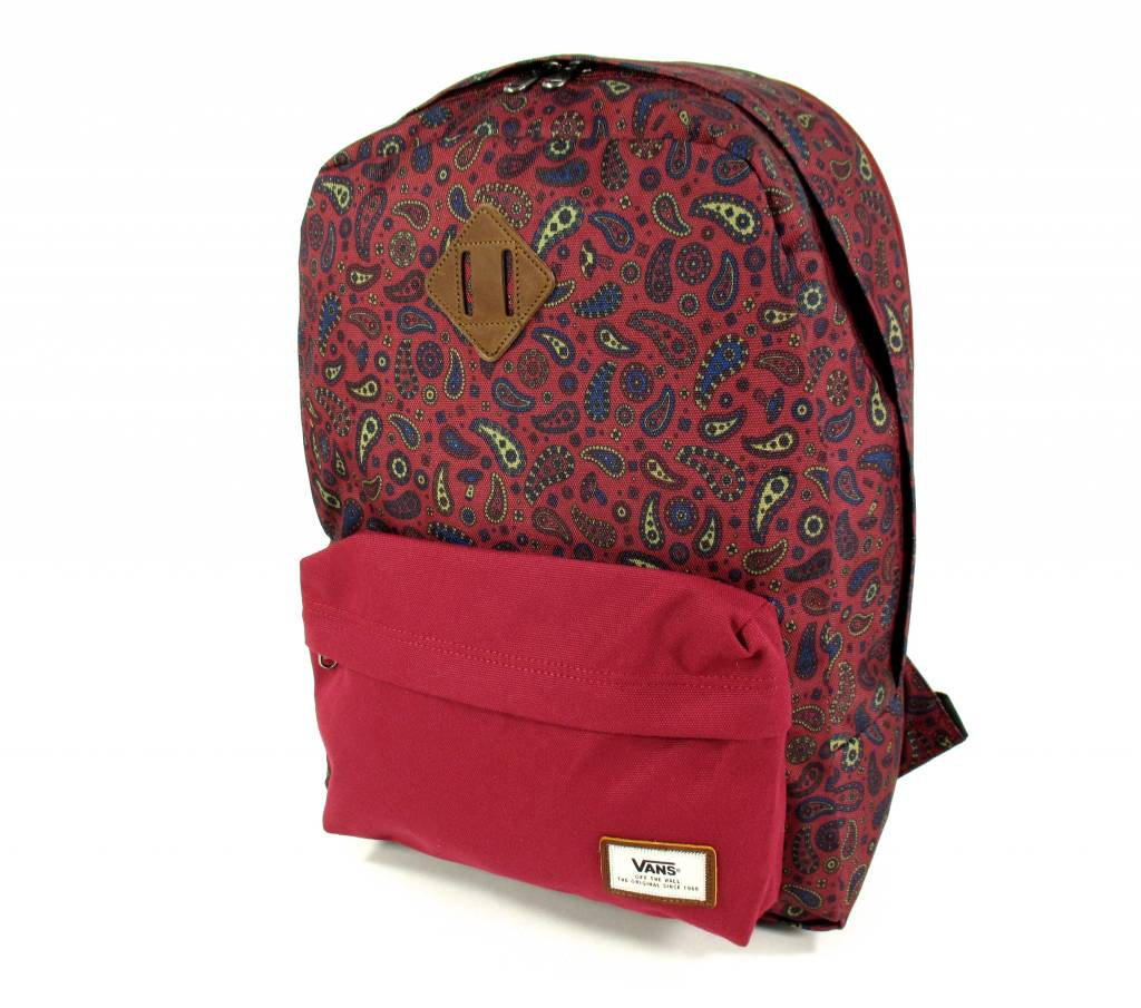 VANS BackPack M OLD SKOOL PLUS BAC BORDEAUX FUN GU