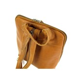 Chesterfield Leren back Pack Dames Maria Wax Pull up Cognac
