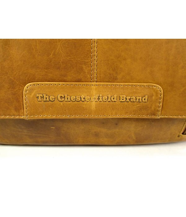 Chesterfield Schoudertas kleptas RICHARD Cognac