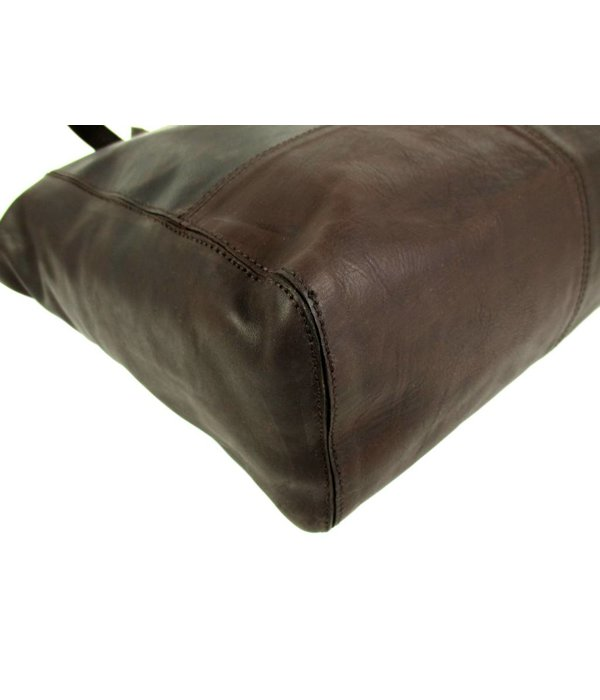 Chesterfield Chopper OLDHAM Waxed Pull Up bruin