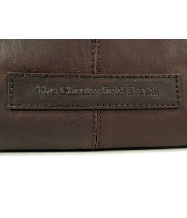 Chesterfield Shopper OLDHAM Waxed Pull Up Hoog model bruin