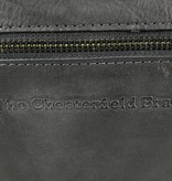 "Chesterfield Laptoptas 15,6"" Black label Hi Veg Crust Cow Antraciet"